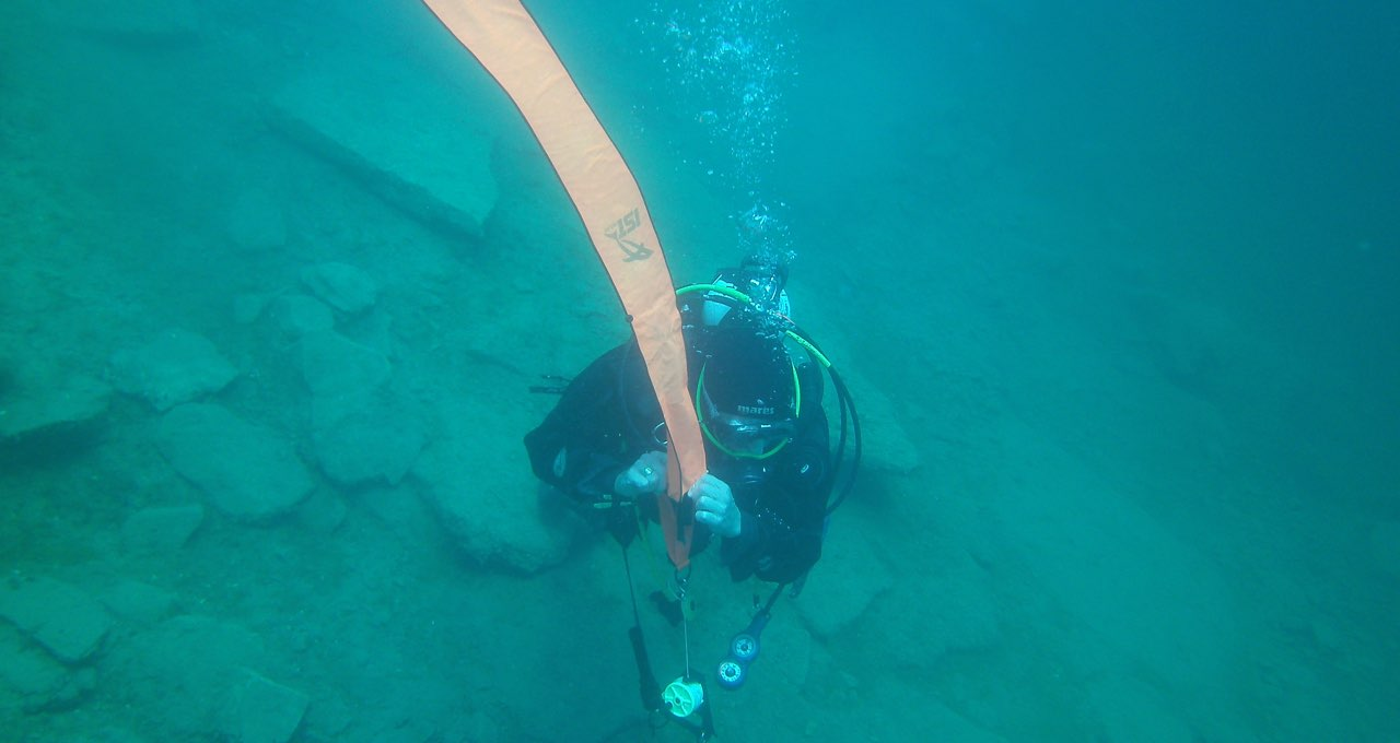 PADI Delayed Surface Marker Buoy Speciality Liverpool